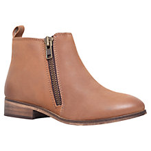 Buy Miss KG Spitfire Leather Chelsea Boots, Tan Online at johnlewis.com