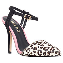 Buy Miss KG Adele High Heel Court Shoes, Pink/ Pony Online at johnlewis.com