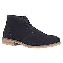 Buy Miss KG Sandy Suede Ankle Boots, Black Online at johnlewis.com
