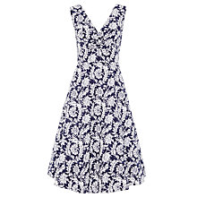 Buy John Lewis Veronica Archive Print Dress, Navy Online at johnlewis.com