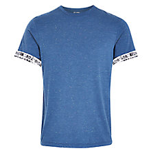 Buy HYMN Hopton Multi Fleck T-Shirt, Blue Online at johnlewis.com