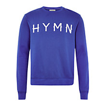 Buy HYMN Wesley Logo Print Sweatshirt Online at johnlewis.com