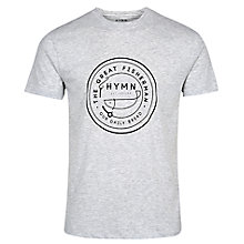 Buy HYMN Borth Large Logo T-Shirt Online at johnlewis.com