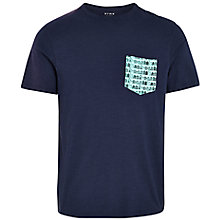 Buy HYMN Mumble Beach Hut Pocket T-Shirt Online at johnlewis.com