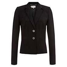 Buy Hobbs Juliette Jacket, Black Online at johnlewis.com
