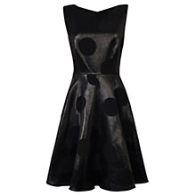 Buy Coast Becca Spot Dress, Black Online at johnlewis.com