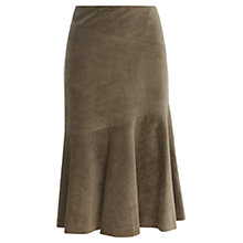 Buy Viyella Cutabout Cord Skirt, Khaki Online at johnlewis.com