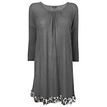 Buy Phase Eight Nya Sequin Knit Top, Pewter Online at johnlewis.com