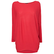 Buy Phase Eight Becca Batwing Knit Jumper, Pout Online at johnlewis.com