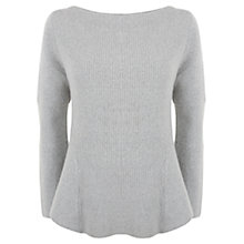 Buy Mint Velvet Peplum Knit Top Online at johnlewis.com
