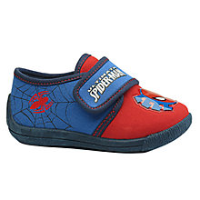 Buy Spiderman Ultimate Slippers, Red/Blue Online at johnlewis.com