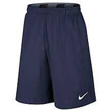 Buy Nike 25cm Fly 2.0 Men's Training Shorts, Black Online at johnlewis.com