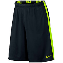 Buy Nike Fly 2.0 Training Shorts, Black/Volt Online at johnlewis.com