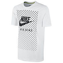 Buy Nike Air Max Graphic Print T-Shirt Online at johnlewis.com