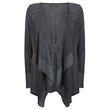 Buy Mint Velvet Overdyed Linen Cardigan Online at johnlewis.com