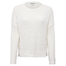 Buy Whistles Fluffy Boxy Jumper, Ivory Online at johnlewis.com