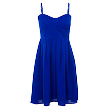 Buy Wolf & Whistle Babydoll Dress, Electric Blue Online at johnlewis.com