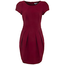 Buy Wolf & Whistle Textured Tailored Dress, Wine Online at johnlewis.com