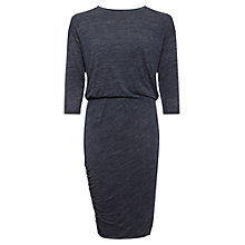 Buy Whistles Evelyn Casual Dress, Navy Online at johnlewis.com