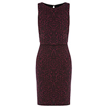 Buy Oasis Jacquard 2 For Dress, Berry Online at johnlewis.com