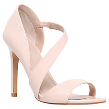 Buy Carvela Gee Open Toe Court Shoes, Nude Online at johnlewis.com