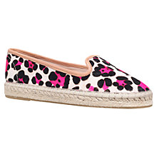 Buy Carvela Landed Espadrille, Pink Comb Online at johnlewis.com