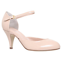 Buy Carvela Amy Mid Heel Patent Court Shoes, Nude Online at johnlewis.com