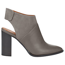 Buy Whistles Alder Leather Shoe Boots, Grey Online at johnlewis.com