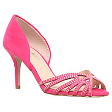 Buy Miss KG Phillipa Suede High Heel Sandals, Pink Online at johnlewis.com