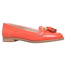 Buy Carvela List Leather Horsebit Loafers, Red Online at johnlewis.com