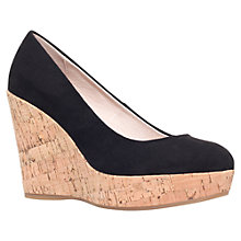 Buy Carvela Attend Wedge Heeled Court Shoes Online at johnlewis.com
