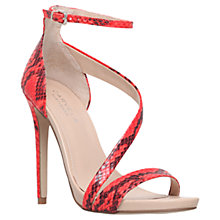 Buy Carvela Gosh Leather Strappy Stiletto Sandals Online at johnlewis.com