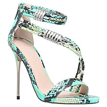 Buy Carvela Glisten Snake Embossed Sandals Online at johnlewis.com
