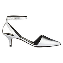 Buy Whistles Aster Pointed Slingback Leather Court Shoes Online at johnlewis.com