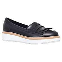 Buy Carvela Legend Leather Loafers, Black Online at johnlewis.com