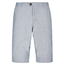 Buy HYMN Whitley Chino Shorts, Grey Online at johnlewis.com
