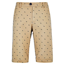 Buy HYMN Hemsby Pennyfarthing Chino Shorts, Beige Online at johnlewis.com