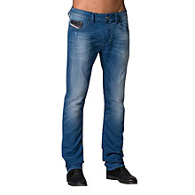 Buy Diesel Thavar-Ne Jogg 837T Slim Jeans, Light Blue Online at johnlewis.com