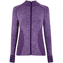 Buy Manuka Active Seamless Jacket, Berry Online at johnlewis.com