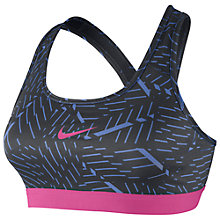Buy Nike Pro Classic Bash Sports Bra, Polar/Anthracite Online at johnlewis.com