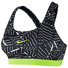 Buy Nike Pro Classic Print Sports Bra Online at johnlewis.com