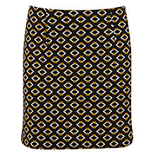 Buy Miss Selfridge Geo Print Mini Skirt, Multi Online at johnlewis.com