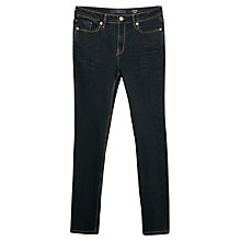 Buy Violeta by Mango Slim-Fit Susan Jeans, Dark Blue Online at johnlewis.com