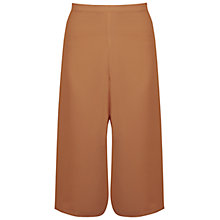 Buy Miss Selfridge Chiffon Culottes, Tan Online at johnlewis.com