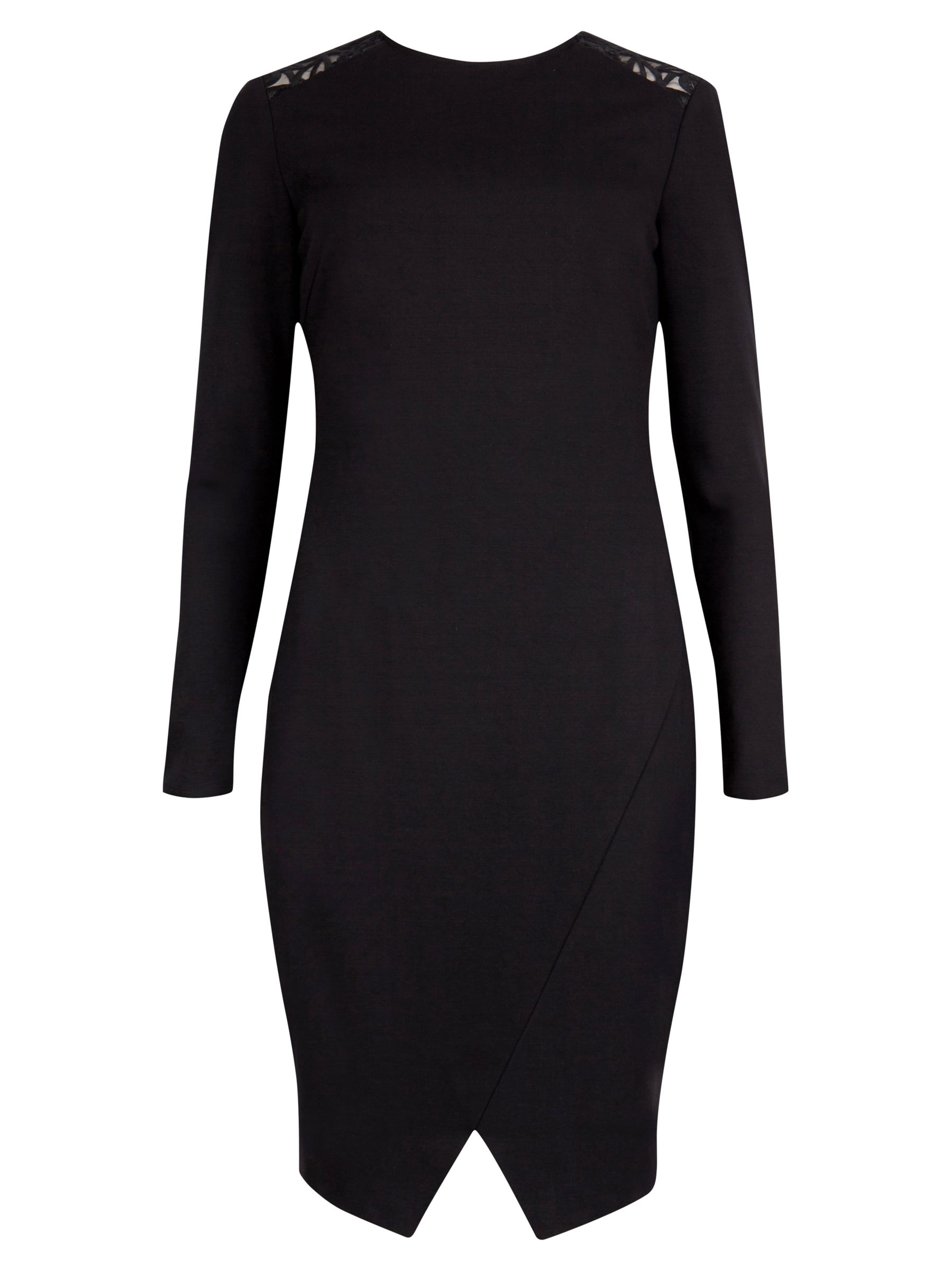 ted baker lace back detail dress black, ted, baker, lace, back, detail, dress, black, ted baker, 0|5|3|4|2|1, women, womens dresses, fashion magazine, womenswear, men, brands l-z, 1785504
