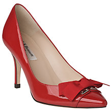 Buy L.K. Bennett Irene Patent Leather Court Shoes Online at johnlewis.com