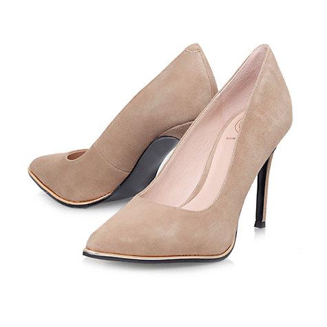 Buy KG by Kurt Geiger Beauty Toe Point Stiletto Court Shoes Online at johnlewis.com
