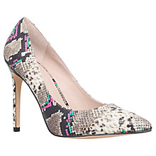 Buy KG by Kurt Geiger Bailey Pointed Court Shoes, Beige Online at johnlewis.com