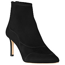 Buy L.K. Bennett Patty Stiletto Ankle Boots, Black Suede Online at johnlewis.com