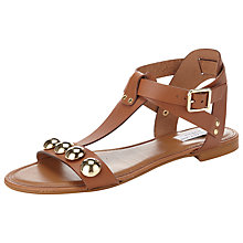 Buy COLLECTION by John Lewis Enna T-Bar Studded Leather Sandals Online at johnlewis.com